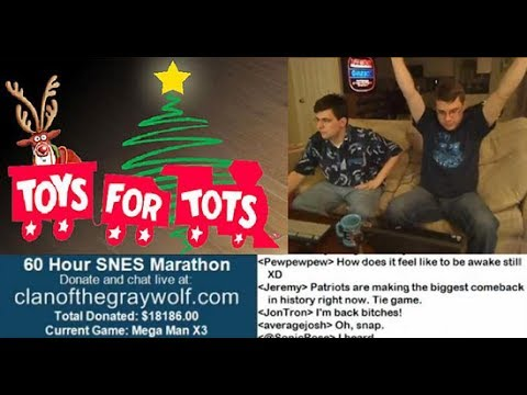 5th Annual CotGW Charity Gaming Marathon – 60 Hours of SNES