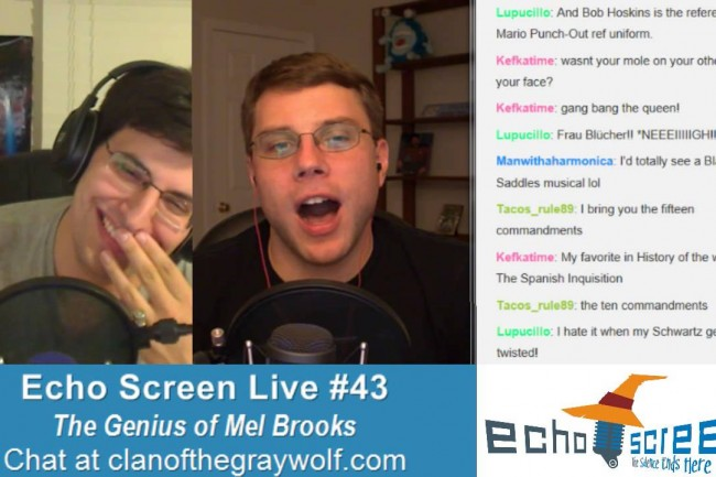 Echo Screen Live #43: The Genius of Mel Brooks